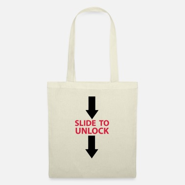 Open Underwear Slide to unlock (vertically from top to bottom) 2 - Tote Bag