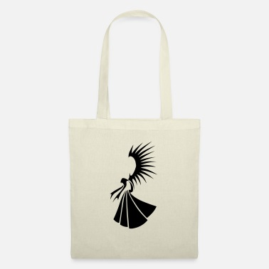 Angel-Tribal - Tote Bag