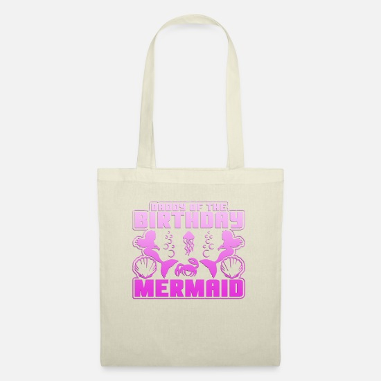 Saturn Bags & Backpacks - Mermaid and Birthday Gift Shirt, dad - Tote Bag nature