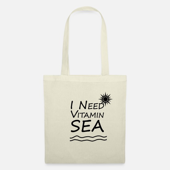 Cruise Bags & Backpacks - Captain Ocean Vitamin Sea Anchor Maritime Gift - Tote Bag nature