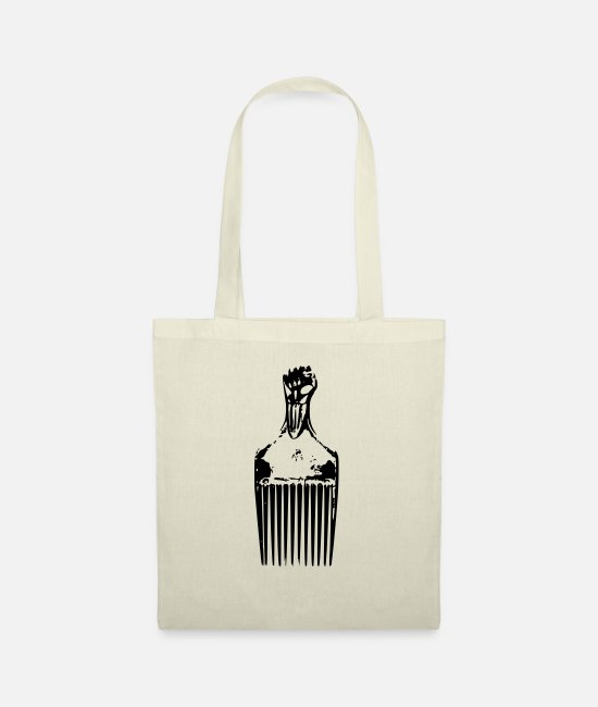 Urban Bags & Backpacks - Afro Pick - Tote Bag nature