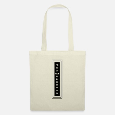 Adhesive thermometer 2 g1 - Tote Bag