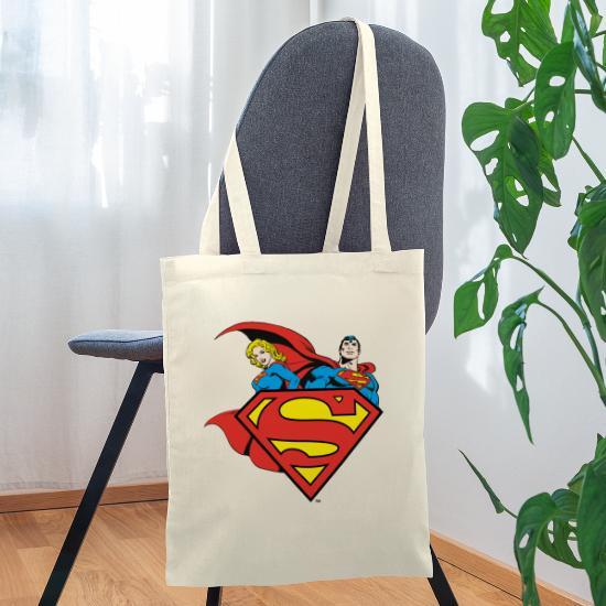 DC Comics Originals Supergirl Und Superman Turnbeutel