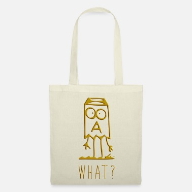 Graffiti Graffiti Figurine - What? Question as a gift idea - Tote Bag