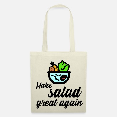 Motto Make salad great again - Tote Bag