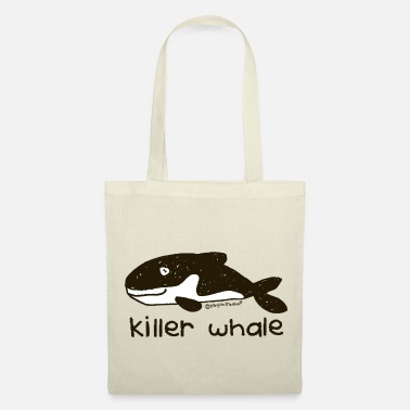 Killer Whale 'killer whale - Bang on the door - Tote Bag