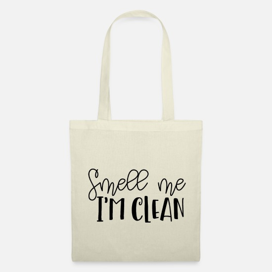 Clean Bags & Backpacks - SMELL ME I'AM CLEAN | RICH, I'M CLEAN! - Tote Bag nature