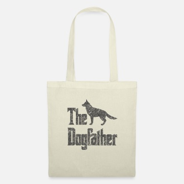 Godfather The Dogfather German Shepherd dogs funny - Tote Bag