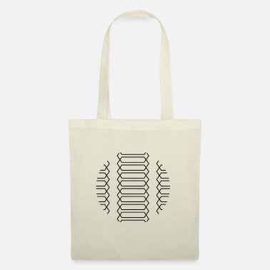 Helix Helix pattern abstract design - Tote Bag