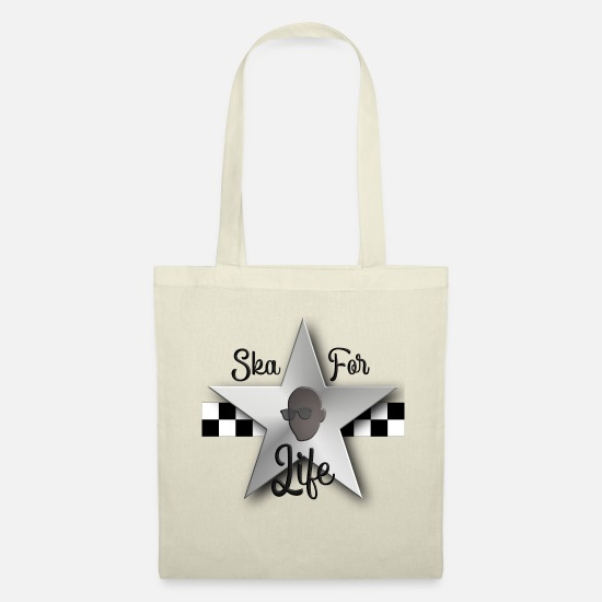 Rudeboy Bags & Backpacks - Ska for Life - Tote Bag nature