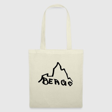 Happy Birthday montagne - Tote Bag