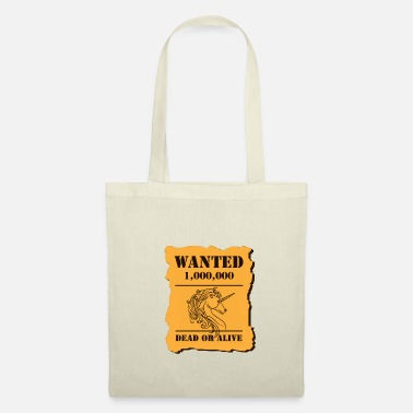 Wanted UNICORN voulait - Tote Bag