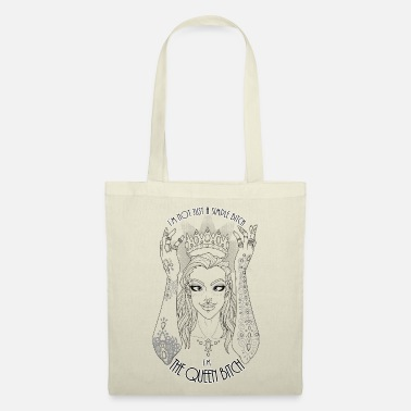 Black Girls Rock The Queen Bitch - Tote Bag
