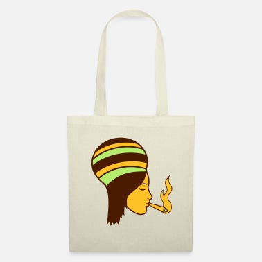 Feuille puant joint lapidé cannabis cannabis chanvre rauc - Tote Bag