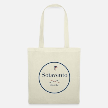 Blue White SOTAVENTO 175x175 white blue - Tote Bag
