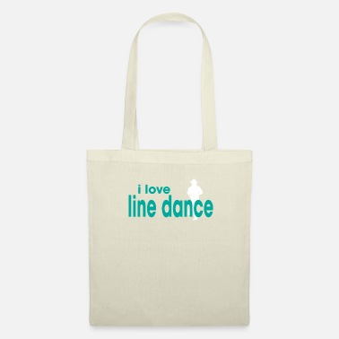 Line Dancing I Love Line Dance - Tote Bag