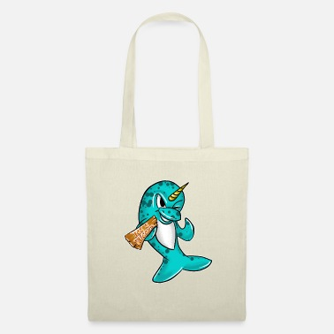 Narwhal Not A Unicorn Funny Narwhal Deep Sea Creature Cool - Tote Bag