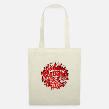 Name CELEBRATION CHRISTMAS - Tote Bag