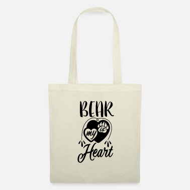 Clever BEAR IS MY HEART - Tote Bag