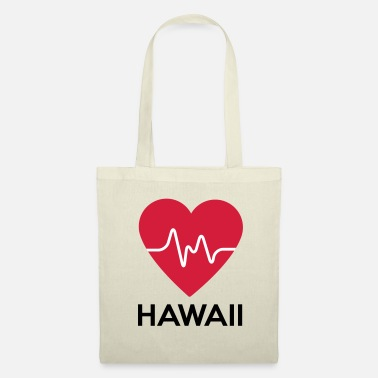 Hawaï coeur Hawaï - Tote Bag