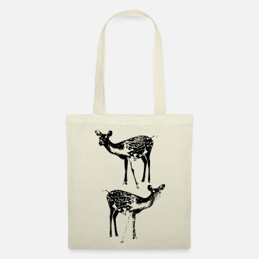 Wild Boar Deer forest - Tote Bag