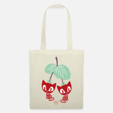 Mademoiselle Deluxe Strawberry Cats - Tote Bag