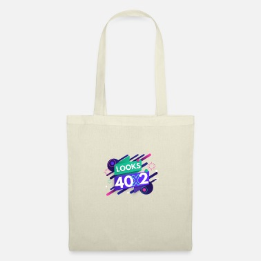 Hipster 80th birthday - Tote Bag