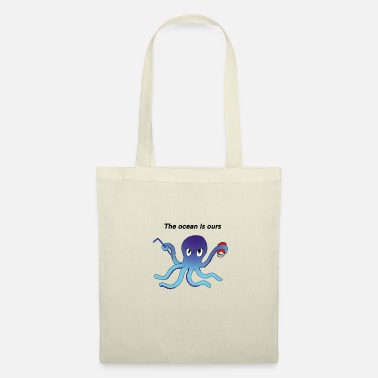 Polluer Octopus color - Tote Bag