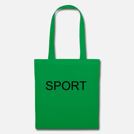 Play Bags & Backpacks - SPORTS - Tote Bag kelly green