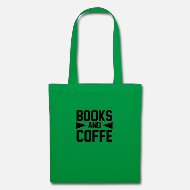 Man BOOKS AND COFFE 2 01 - Tote Bag