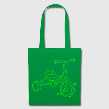 tricycle d'enfants - Tote Bag