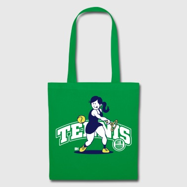 Tennis, Hit'm hard - Tote Bag