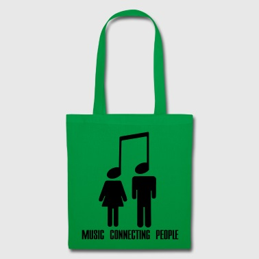 Music Connecting People - Tygväska
