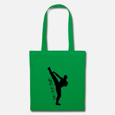Kicker noir Kick Kick haut - Tote Bag