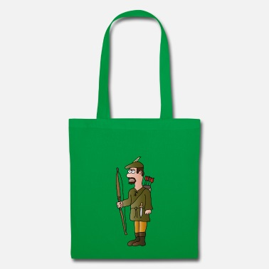 Robin Hood Archer Robin Hood | Archery arrows - Tote Bag