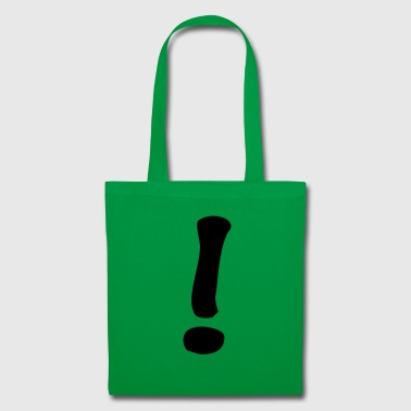 exclamation mark - Tote Bag