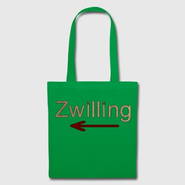 Twin gauche - Tote Bag