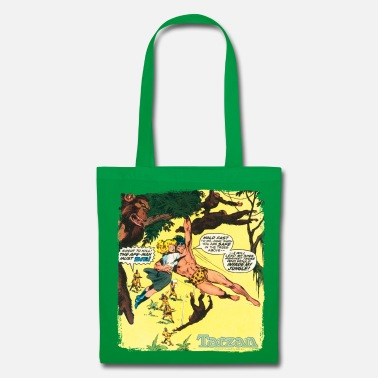 Tarzan Jane Old Comic Cover - Tote Bag