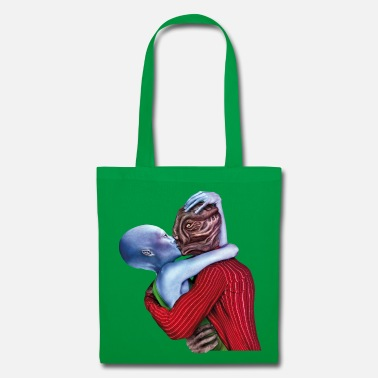 Scifi ALIEN LOVERS - Tote Bag