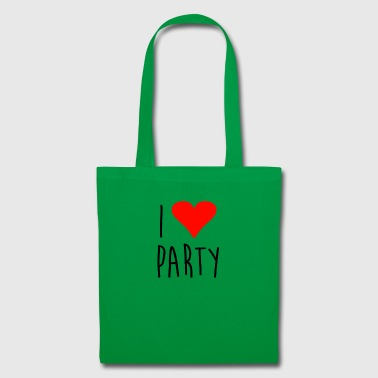 I love party - Tote Bag