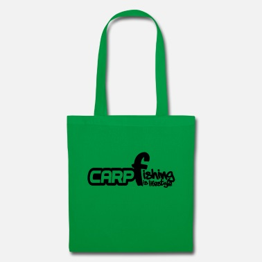 Carpe Poisson Carpe, poisson, pêche à la carpe, pêche - Tote Bag
