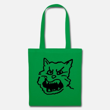 Groove Cat / hangover / evil, roaring / grooving - Tote Bag