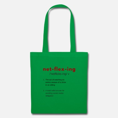 Netflix Netflixing - Tote Bag