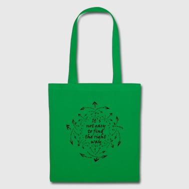 Not easy - Tote Bag