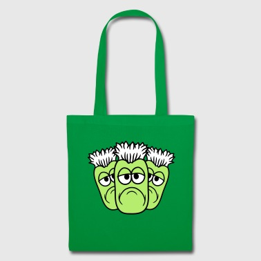 3 friends team crew party face funny comic car - Tote Bag