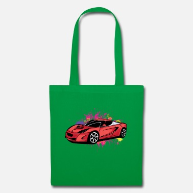 Sportscar Cool red sportscar - Tote Bag