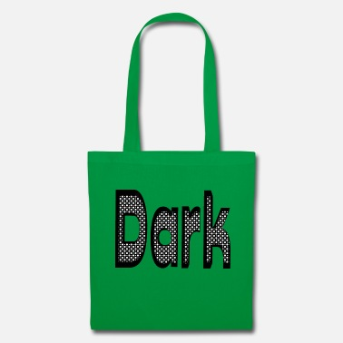 Optical Illusion Dark - Tote Bag