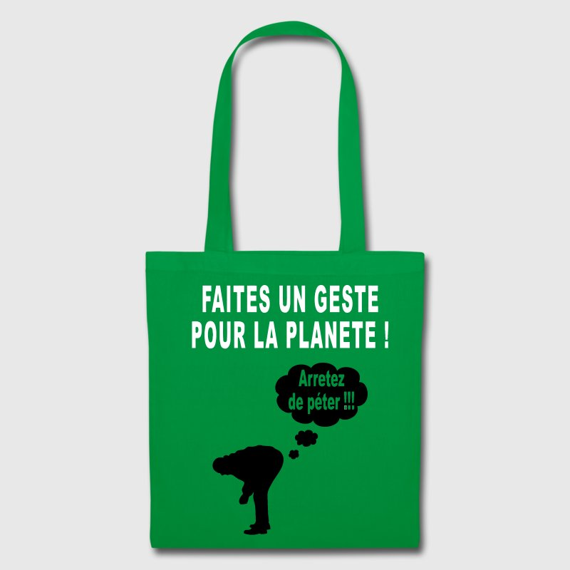 humour écolo - Tote Bag