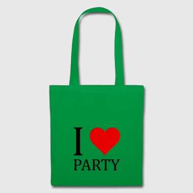 I love party! - Tote Bag
