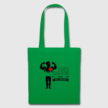 Grand coeur de petit veau - Fun Powerlifting - Noir - Tote Bag